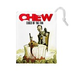 Chew-Large - Drawstring Pouch (Large)