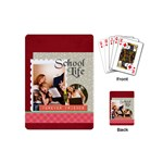 back to school - Playing Cards (Mini)