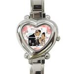 wedding - Heart Italian Charm Watch