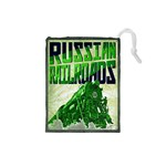 Russian Railroads - Player Green - Drawstring Pouch (Small)