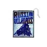 Russian Railroads - Player Blue - Drawstring Pouch (Small)