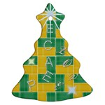 Christmas Tree - Christmas Tree Ornament (Two Sides)