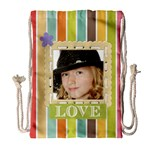kids - Drawstring Bag (Large)