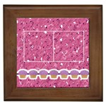 Pink Birthday Framed Tile