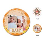 baby - Playing Cards Single Design (Round)
