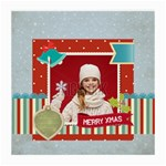xmas - Medium Glasses Cloth (2 Sides)