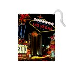 drawbag-lasvegas - Drawstring Pouch (Medium)