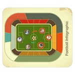 FOOTBALL - Double Sided Flano Blanket (Small)
