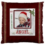 My Christmas Angel Flano Cushion Case - Standard Flano Cushion Case (One Side)