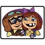 CARL AND ELLIE 2 - Fleece Blanket (Large)