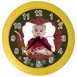 xmas - Color Wall Clock