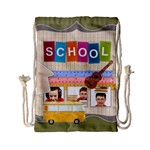 school - Drawstring Bag (Small)