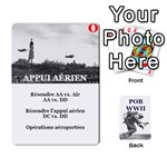 FIELD OF BATTLE WWII - Playing Cards 54 Designs