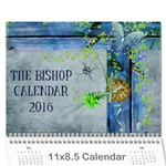 The Bishop Cal 2016 - Wall Calendar 11  x 8.5  (12-Months)