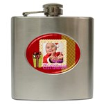 xmas - Hip Flask (6 oz)
