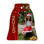 xmas 2015 - Bell Ornament (Two Sides)
