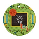 Fanciful Fun Ornament - Ornament (Round)