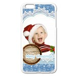xmas - Apple iPhone 6 Plus/6S Plus Enamel White Case