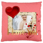 love - Standard Flano Cushion Case (Two Sides)