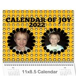 Calendar of JOY, 2019 - Wall Calendar 11  x 8.5  (12-Months)
