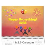 Happy Everything, 2019 - Wall Calendar 11  x 8.5  (12-Months)