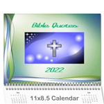 Bible Quotes Calendar, 2019 - Wall Calendar 11  x 8.5  (12-Months)