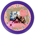 love - Color Wall Clock