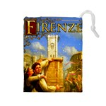 Firenze  - Drawstring Pouch (Large)