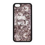 She Wolf iPhone 5C seamless Phonecase - iPhone 5C Seamless Case (Black)