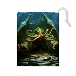 Lovecraft V2 - Drawstring Pouch (Large)