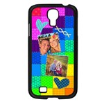 Rainbow Stitch - Samsung Galaxy S4 I9500/ I9505 Case (Black)