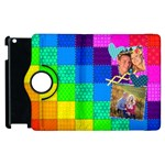 Rainbow Stitch - Apple iPad 3/4 Flip 360 Case