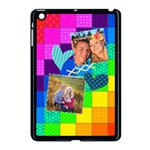 Rainbow Stitch - Apple iPad Mini Case (Black)