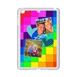 Rainbow Stitch - Apple iPad Mini 2 Case (White)