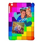 Rainbow Stitch - Apple iPad Mini Hardshell Case (Compatible with Smart Cover)
