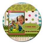 kids - Round Mousepad