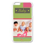 baby - iPhone 6 Plus/6S Plus Enamel White Case