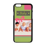 baby - iPhone 6/6S Black Enamel Case