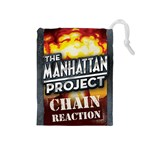 The Manhattan Project Chain reaction - Drawstring Pouch (Medium)