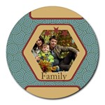 family - Round Mousepad