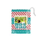 usa - Drawstring Pouch (Small)