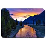 Yellowstone Park: Doormat FORMATED TEMPLATE  FOR DOORMAT MATCHING SET  : Set Matching  Doormat Template s Product - Large Doormat