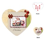 xmas - Playing Cards Single Design (Heart)