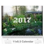2017 any occassion calendar - Wall Calendar 11  x 8.5  (12-Months)