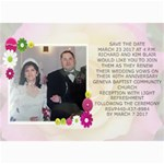 save the date wedding card 1 - 5  x 7  Photo Cards