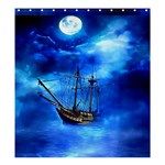 Ship 1 : Format  Matching Set SHOWER CURTAIN - Shower Curtain 66  x 72  (Large)