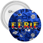 Eerie, Indiana logo badge - 3  Button