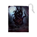 Eldritch Monster Bag - Drawstring Pouch (Large)