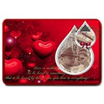 red background finished  Doormat Format: Set Matching  Doormat Template s Product - Large Doormat