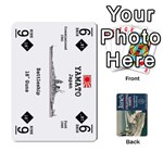Naval War - Ship Deck - Playing Cards 54 Designs (Rectangle)